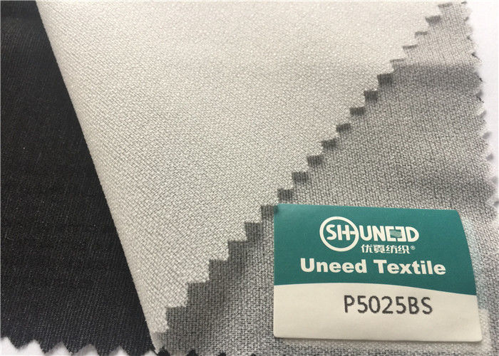 High Stretch Woven Interlining Fabric Plain Weave Mainly Used For Elasticity Fabric